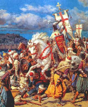King Richard the Lionheart and the Knights Templar