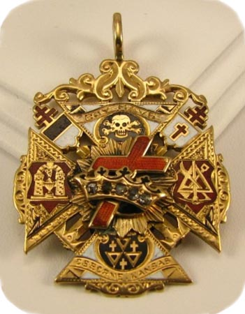 Knights Templar medallion